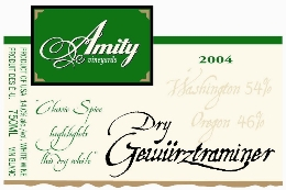 Oregon Dry Gewurtztraminer