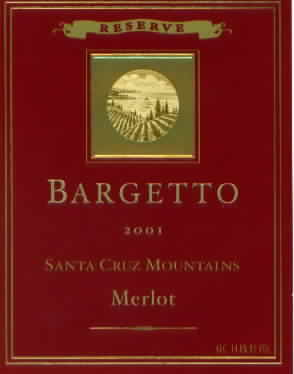 Reserve Santa Cruz Mountains Merlot