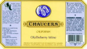 CHAUCER'S Olallieberry