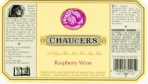 CHAUCER'S Raspberry