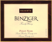 Reserve Pinot Noir, Sonoma County