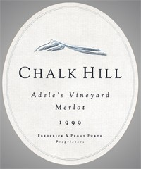 Chalk Hill Estate Vineyard Selection Adele`s Merlot