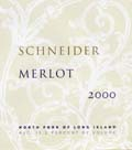 Schneider Vineyards Merlot