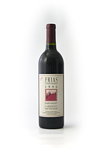 1996 Frias Family Vineyard Estate Cabernet Sauvignon
