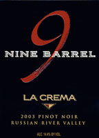 Nine Barrel Pinot Noir