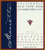 Old Vine Red Lot #43