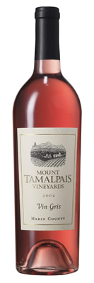 Mount Tamalpais Vineyards Vin Gris, Marin County
