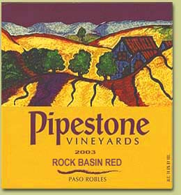 Rock Basin Vineyard Red Wine