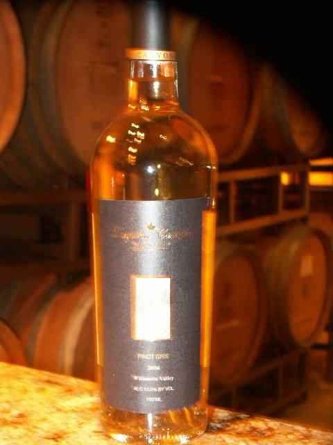 Pinot Gris – Willamette Valley, Oregon