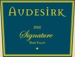 "Audesirk Vineyards Napa Valley ""Signature"""